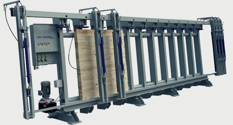Prese Hidraulice pentru Grinzi de 150/200 mm