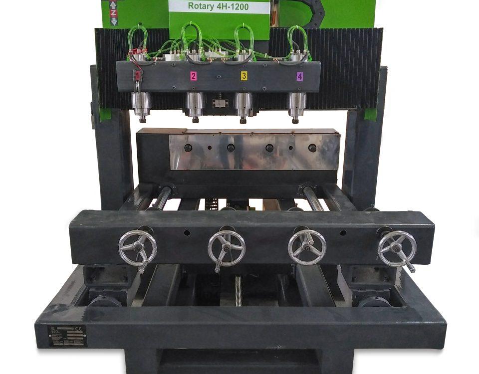 STRUNG CNC PENTRU SCULPTURA Rotary 4H-1200