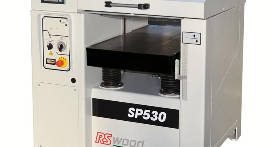 MASINA de RINDELUIT la GROSIME RS Wood SP530