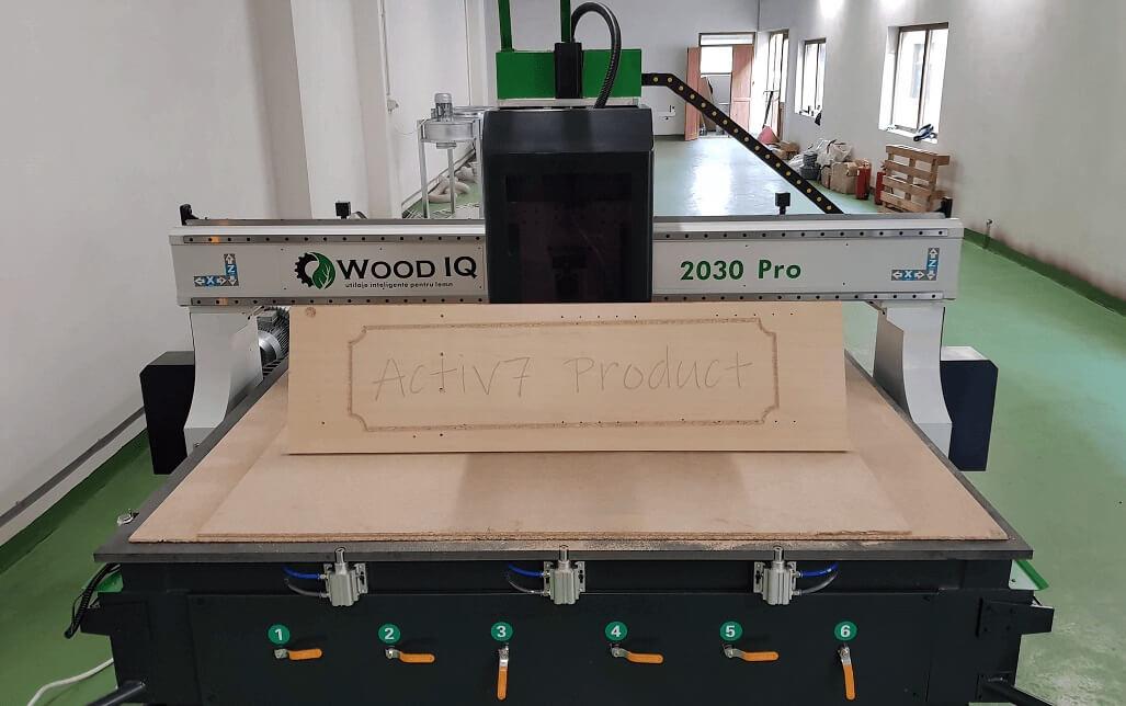 Router CNC 2030 Pro Wood IQ Romania