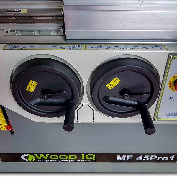 Masina de frezat MF 45 pro1 Reglaje frontale