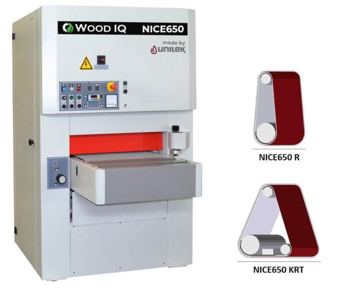 unitek NICE650 1 banda wood iq