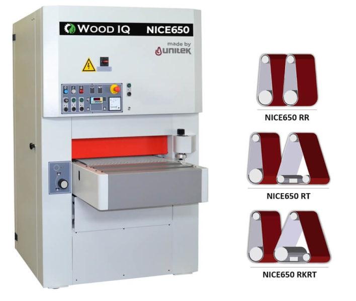 unitek NICE650 2 benzi wood iq