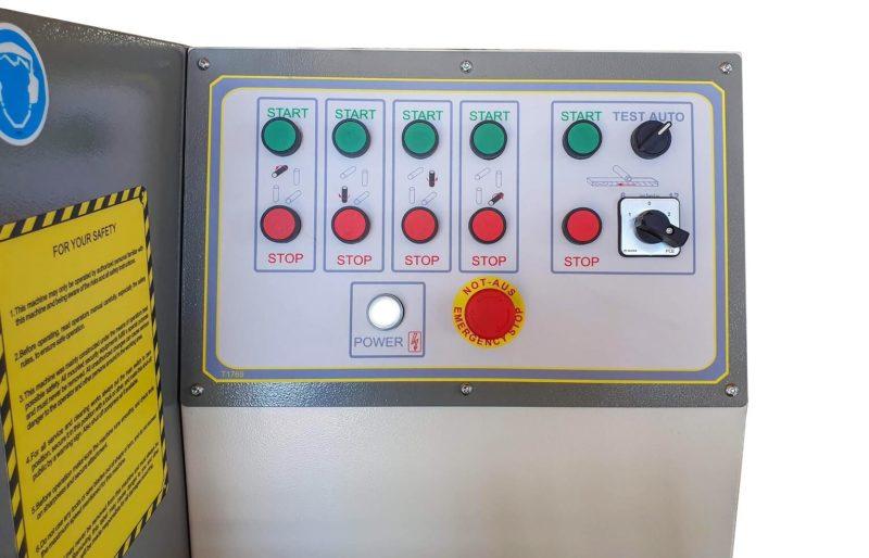 Masina de prelucrat pe 4 fete PR 4 180 Wood IQ Panou de comanda