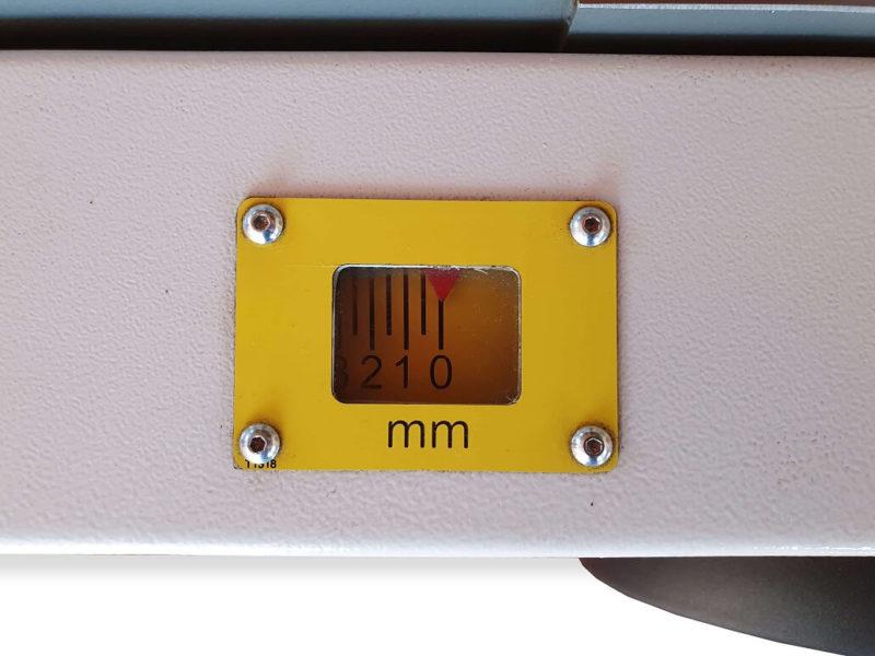 Afisaj mecanic Masina de indreptat abricht MI 53Pro Wood IQ