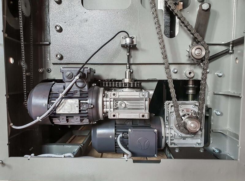 Motorizare Masina de ringeluit la grosime RG 63 Wood IQ