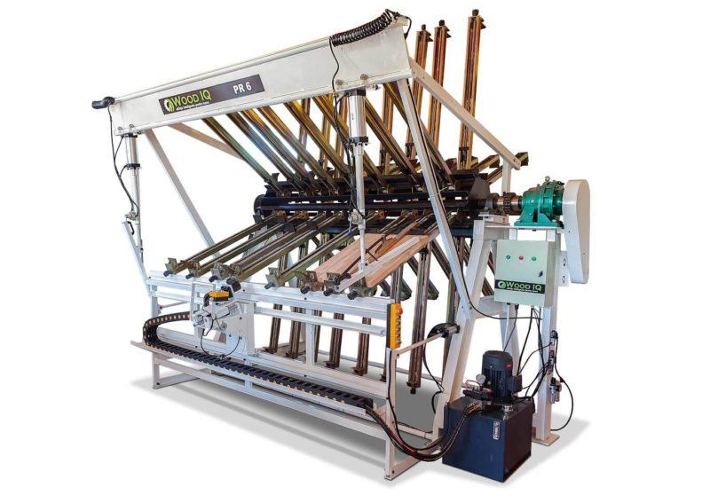 presa rotativa pentru panouri wood iq