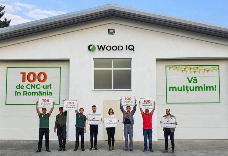 echipa wood iq cnc100