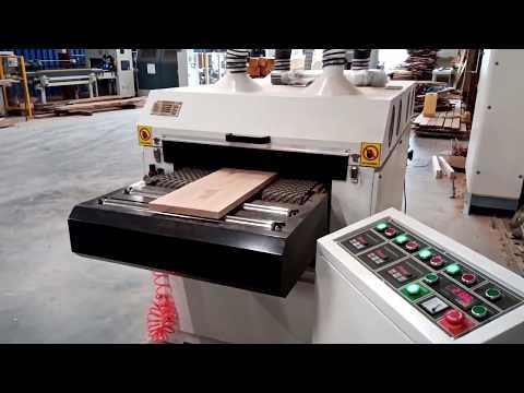 masina de slefuit si antichizat cu 4 perii wood iq video thumbnail
