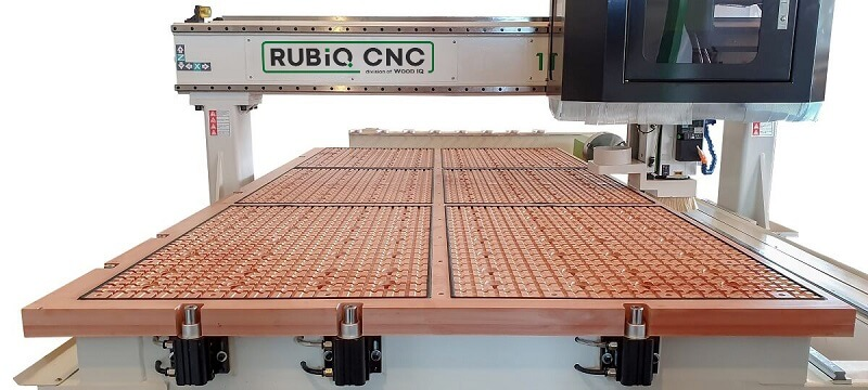 Masa nesting router cnc wood iq rubiq cnc
