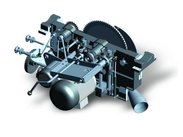 incizor antrenat de motor independent