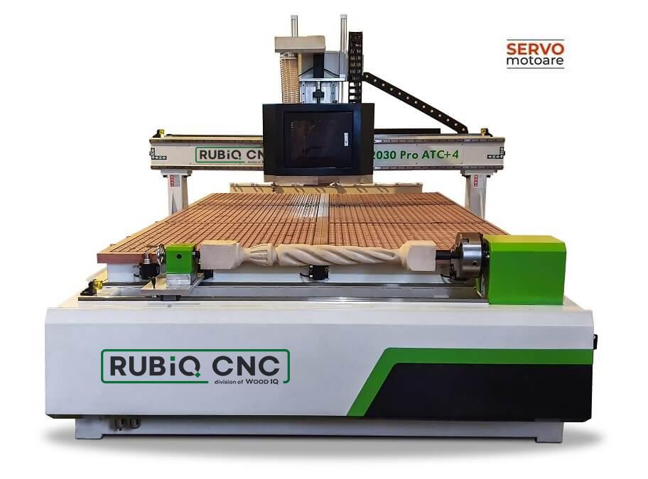 Router CNC 2030 Pro ATC +4 RUBIQ CNC
