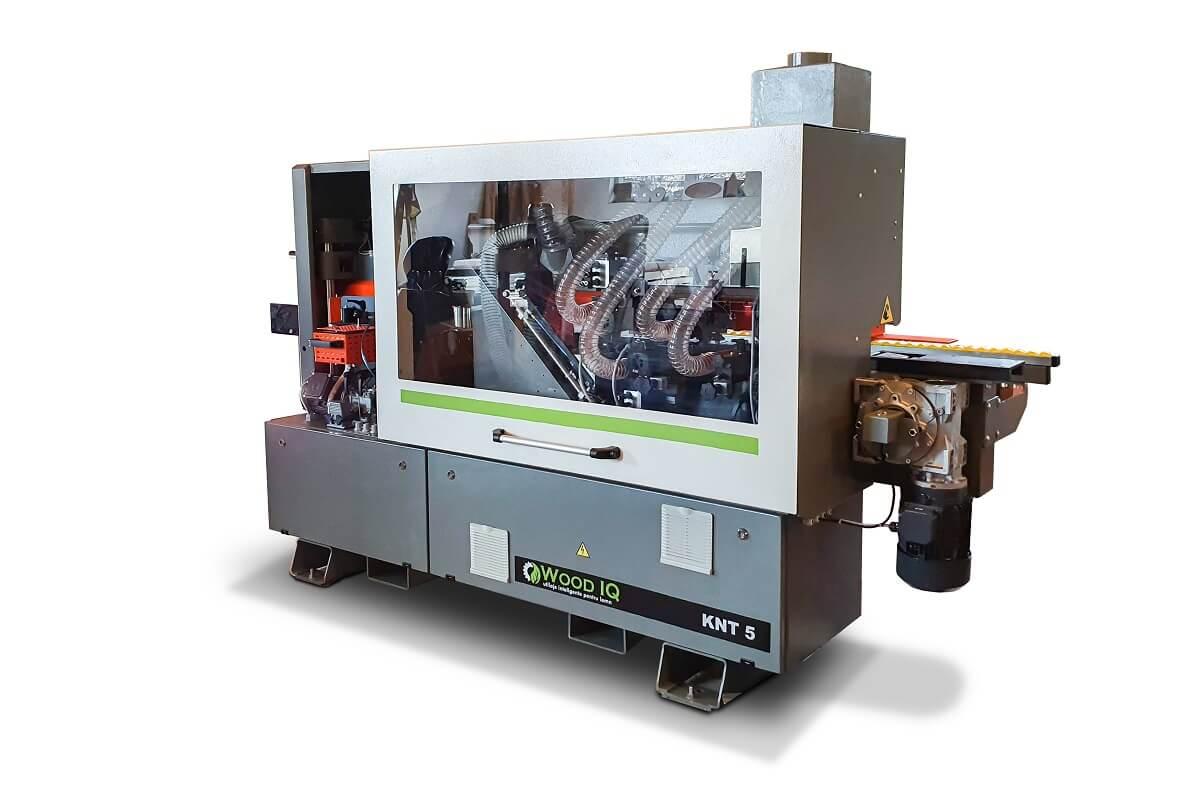 masina automata de aplicat cant knt 5 wood iq