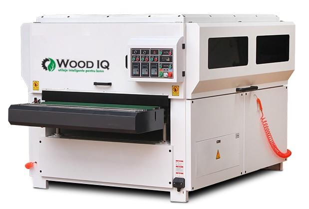 Masina de slefuit cu perii pentru panouri profilate - Wood IQ