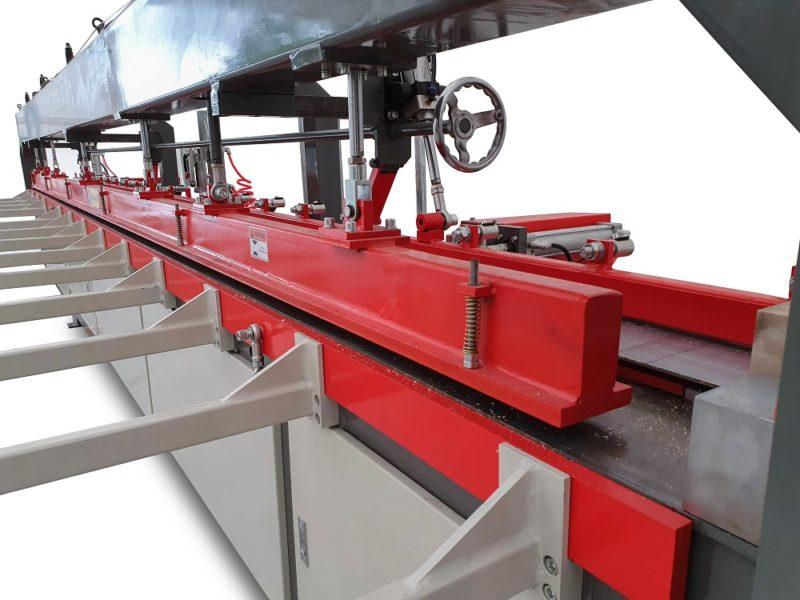 Grinda actionata pneumatic pentru presarea superioara a elementelor