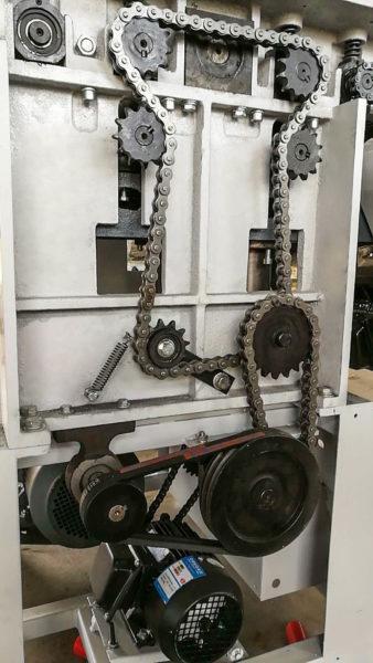motorizare masina de rindeluit la grosime rg 100 si rg 130 wood iq