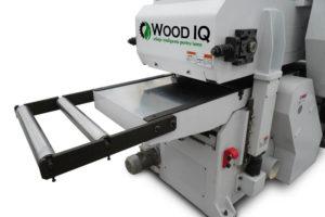 masa de lucru masina de slefuit cu 2 fete wood iq