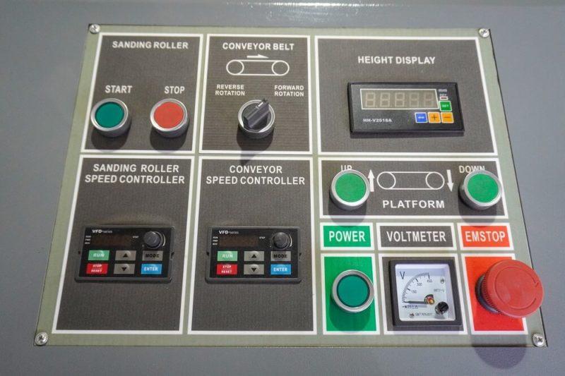 panou de control spa3 630